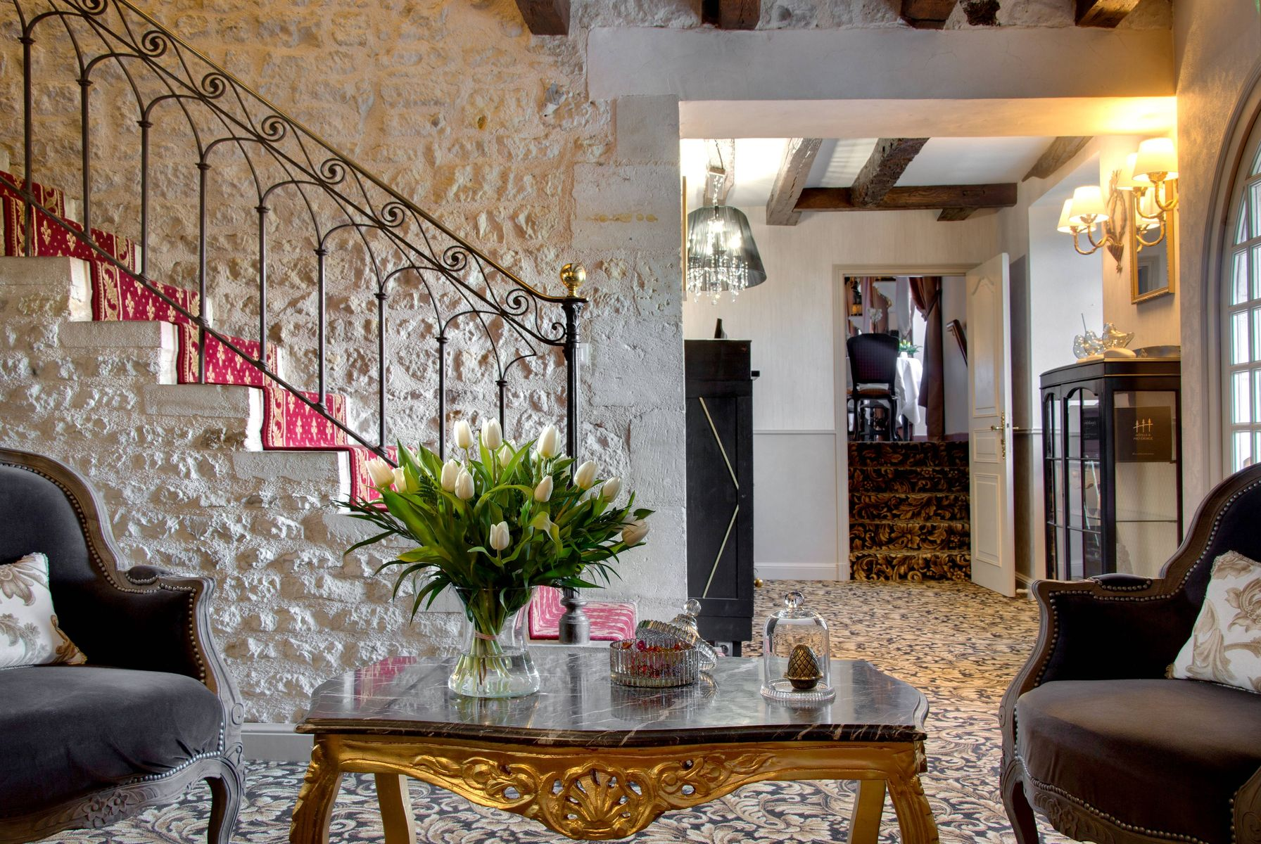 Hôtel Saint-Martin | 4 star hotel | In Nouvelle Aquitaine, 20 minutes from Niort, France | Contacts